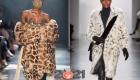 Модные шубы 2021 года в зоопринтах