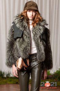 Модные короткие шубки осень-зима 2020-2021