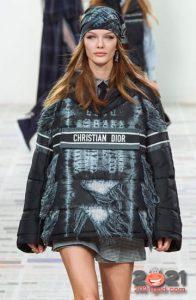 Модный анорак Диор осень-зима 2020-2021