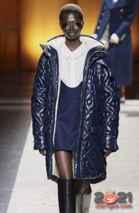 Модная стеганая куртка на 2021 год