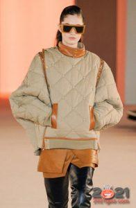 Модный стеганый анорак на 2021 год