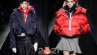 Модные пуховикиVersace  осень-зима 2020-2021