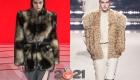 Модные меховые куртки сезона осень-зима 2020-2021