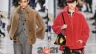 Модные меховые куртки Rochas осень-зима 2020-2021
