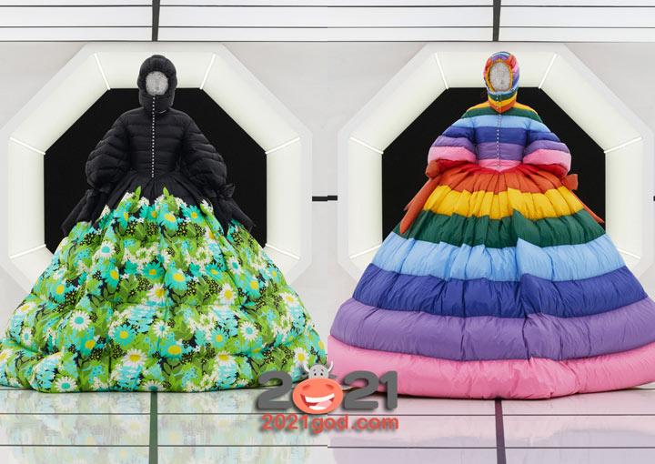 Модные пуховики от Moncler зима 2020-2021