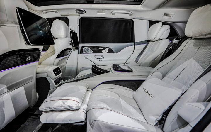 Интерьер Mercedes GLS Maybach 2021 года
