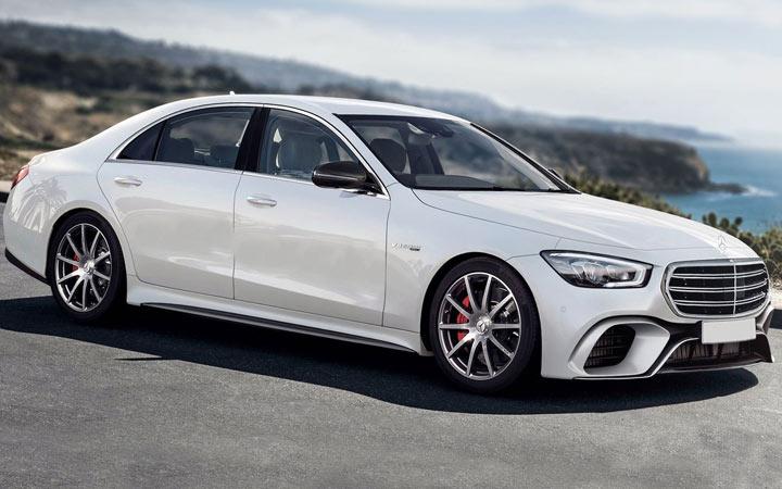 Mercedes S-Class 2021 года