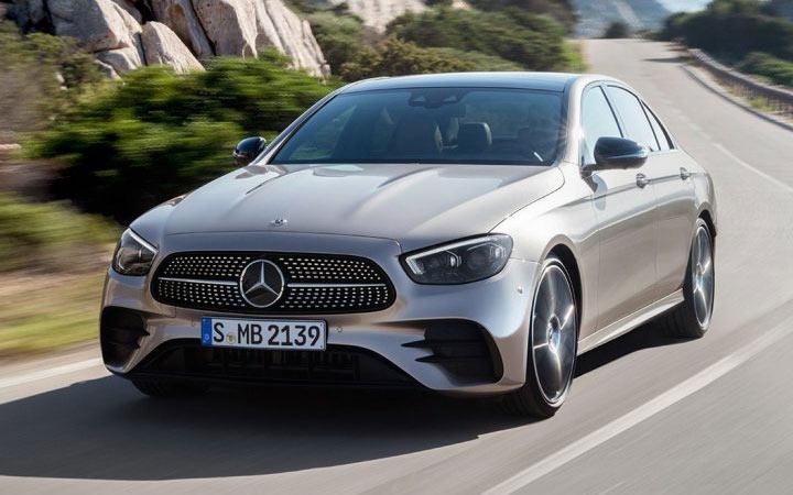 Mercedes E-Class 2021 года
