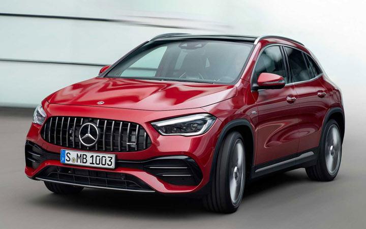 Mercedes GLA Hybrid 2021 года