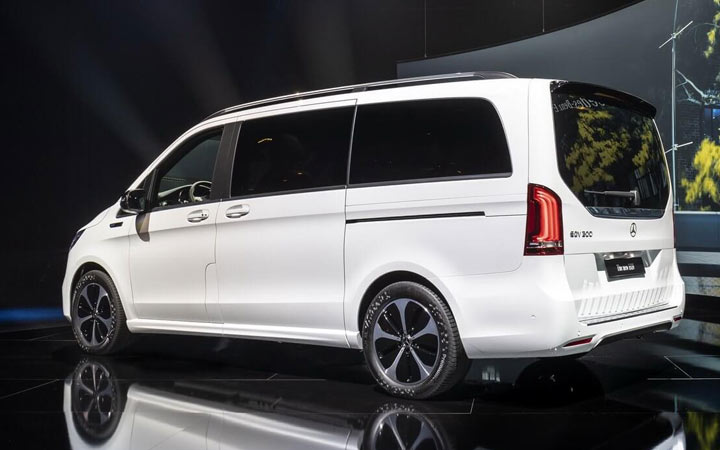 Mercedes EQV 2021 года
