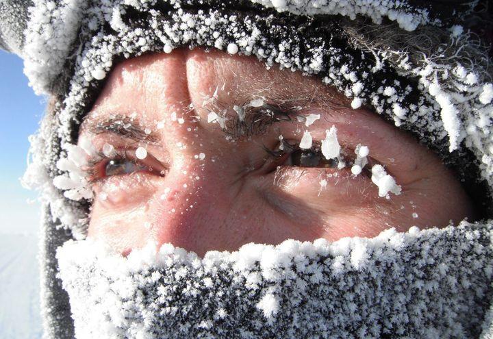 Заморозки в Челябинске