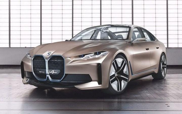 BMW i4 2021 года