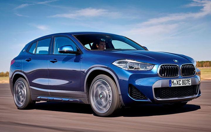 BMW X2 гибрид 2020-2021 года