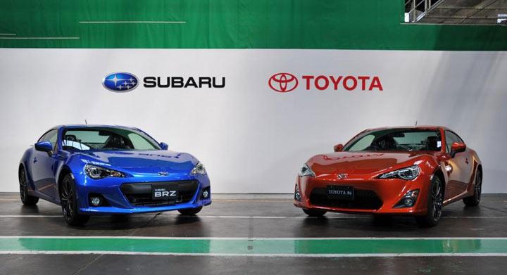 Совместные планы Toyota и Subaru на 2021 год
