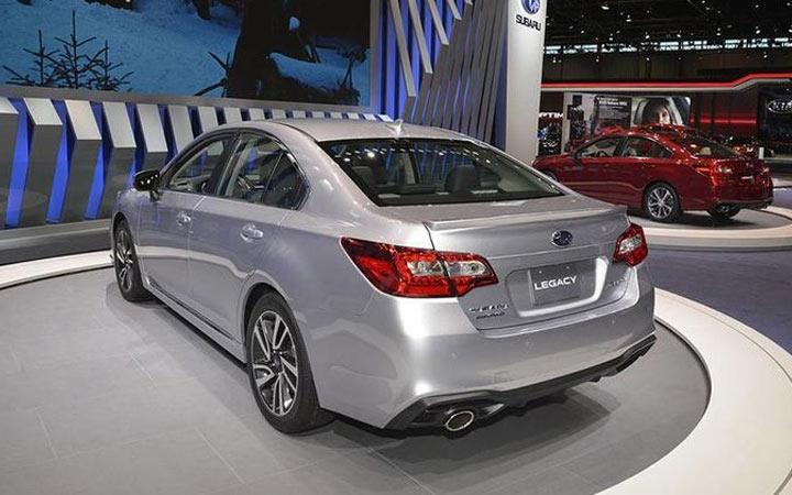 Subaru Legacy и другие новинки 2020-2021