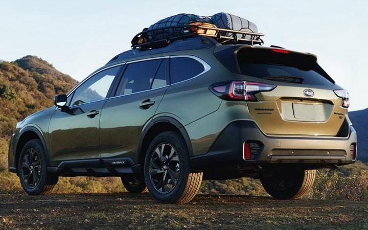 Subaru Outback и другие модели компании 2020-2021 года
