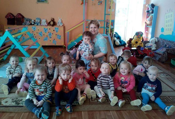 Ясельная группа детского сада