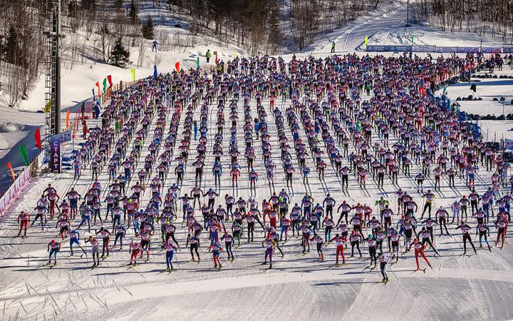 Праздник Севера в Мурманске в 2021 году лыжный марафон