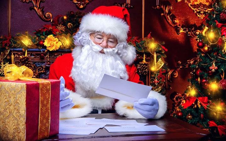 Прикольные поздравления на Новый 2021 год - письмо от Деда Мороза