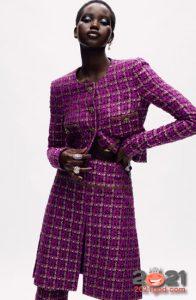 Костюм от Шанель коллекция Haute Couture зима 2020-2021