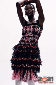 Платье от Шанель коллекция Haute Couture зима 2020-2021