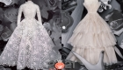 Вечернее платье Диор коллекции Haute Couture осень-зима 2020-2021