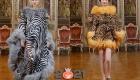 Зоологические принты у Dolce & Gabbana - высокая мода 2021 года