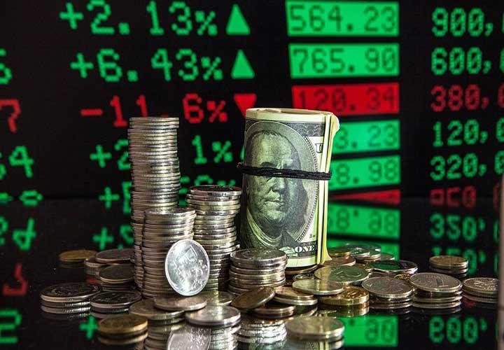 Монеты, купюры, график