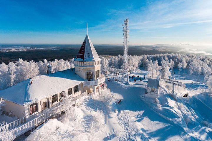 Январь в Екатеринбурге