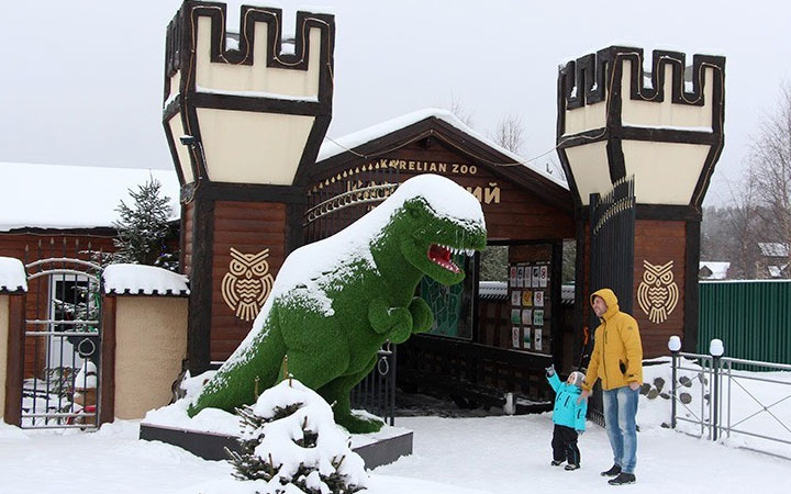 Зоопарк в Карелии - где побывать на Новый Год 2021