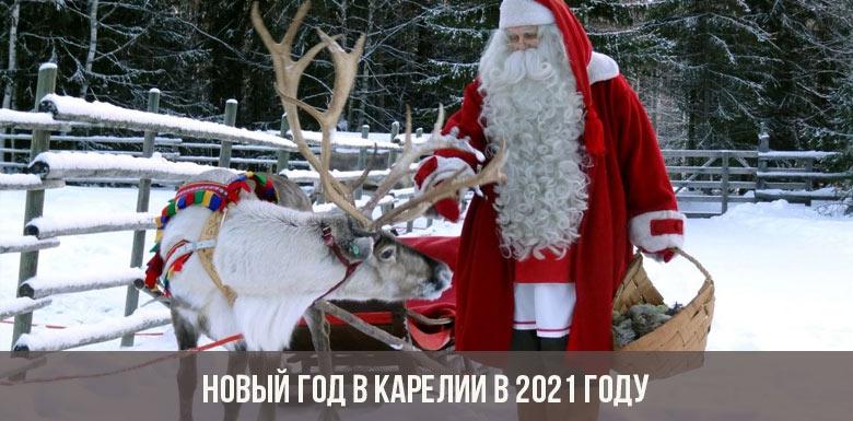 Новый год в Карелии 2021