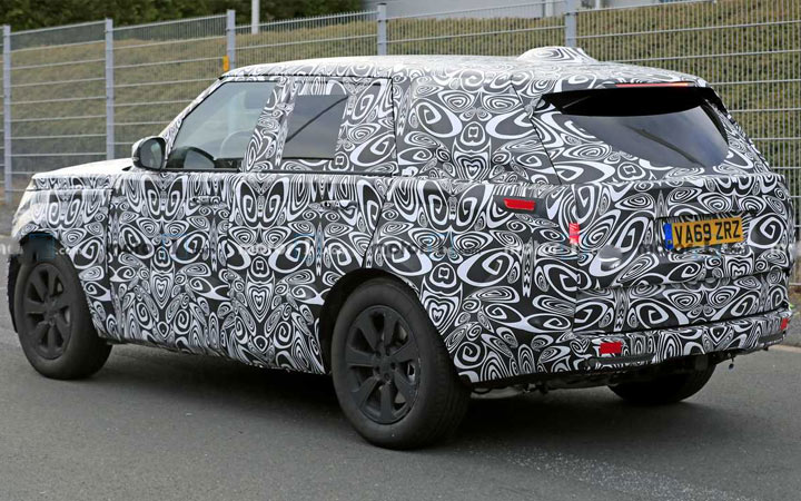 Новый Range Rover 5 поколение 2021 год
