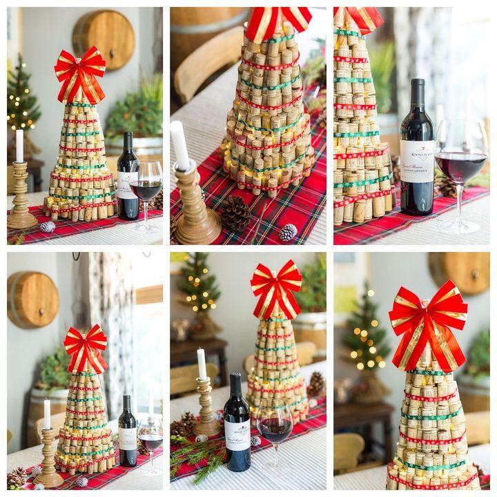 Изготовление новогодней ели