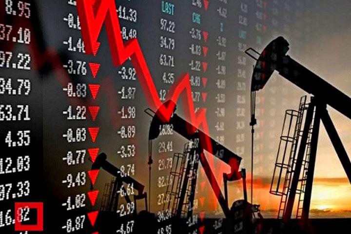 График изменений цены на нефть