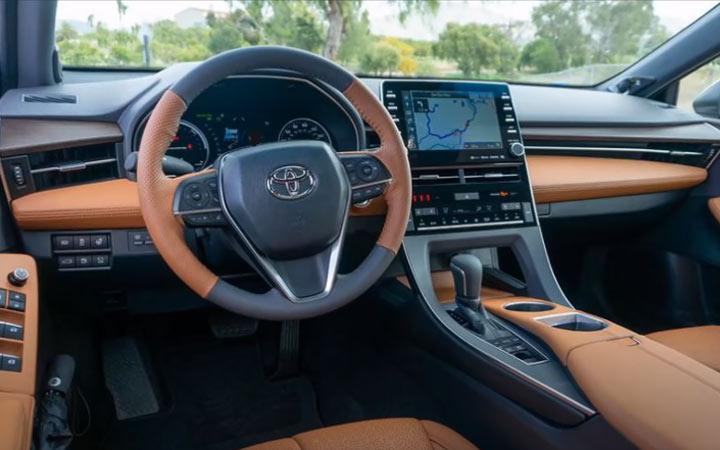 Интерьер нового Toyota Land Cruiser Prado 2021