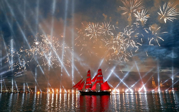 Алые паруса 2021, даты, история праздника, как попасть