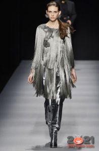 Модные женские сапоги оттенка металлик модные идеи зимы 2020-2021