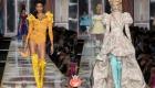 Модные яркие сапоги ботфорты сезона осень-зима 2020-2021