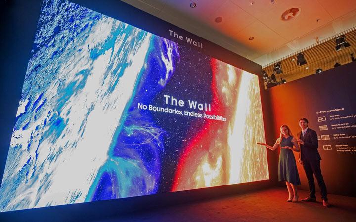 7-метровый телевизор Samsung в 2021 году