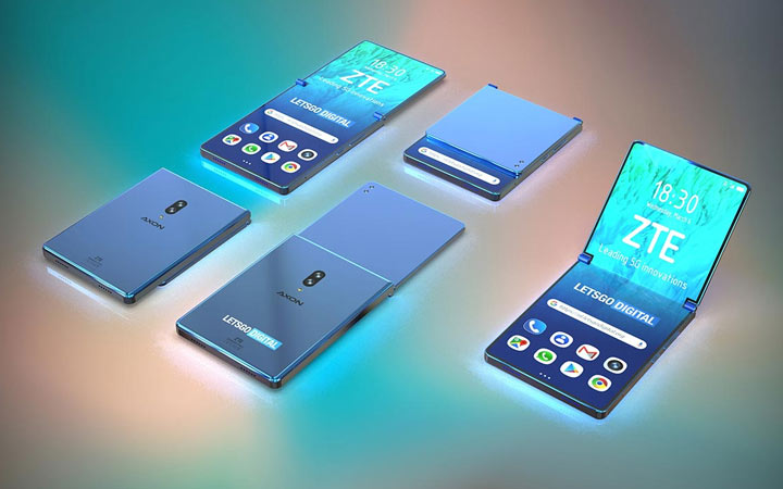 Гибкий смартфон ZTE 2021 года