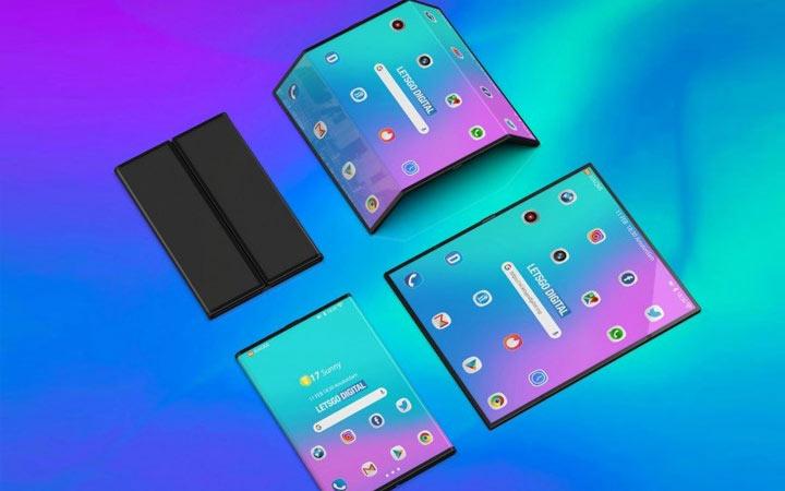 Гибкий смартфон Xiaomi 2021