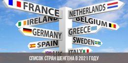 Узнайте, каким будет список стран Шенгена и Еврозоны в 2021 году и будет ли доступна Шенгенская зона туристам из России