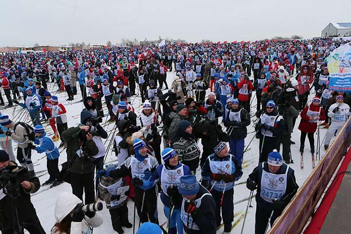 Лыжная России участники