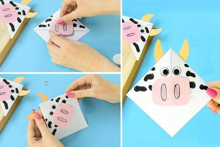 Оригами-бычок
