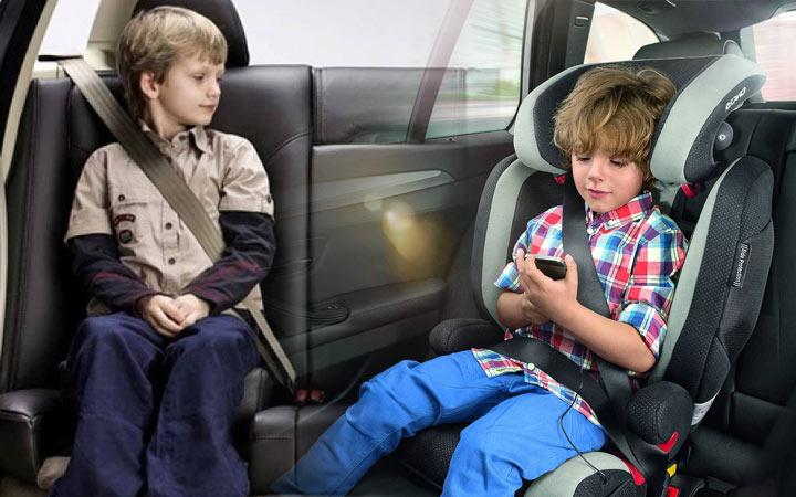 Правила перевозки детей с 7 лет в 2021 году