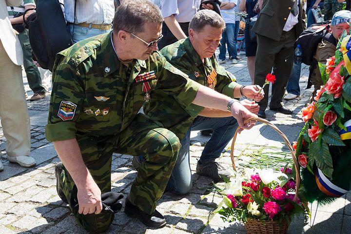 Семьи погибших ветеранов