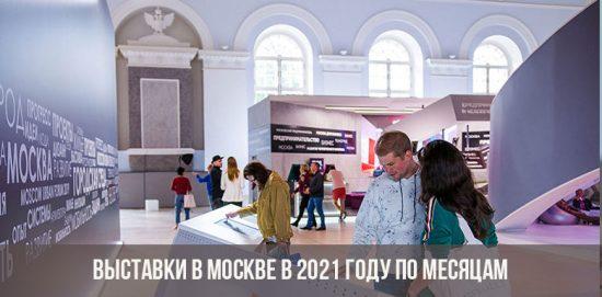 Выставки в Москве 2021