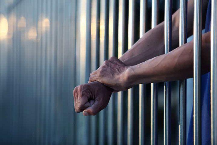 Осуждённый в тюрьме