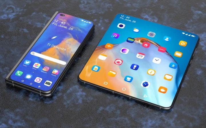 Huawei Mate X2 - ТОП 10 смартфонов 2021 года