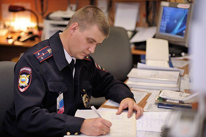 Работник МВД